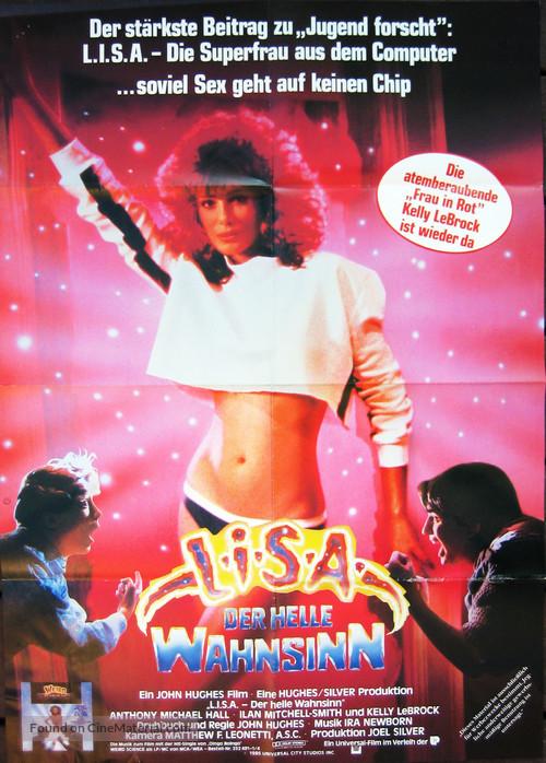 Weird Science - German Movie Poster
