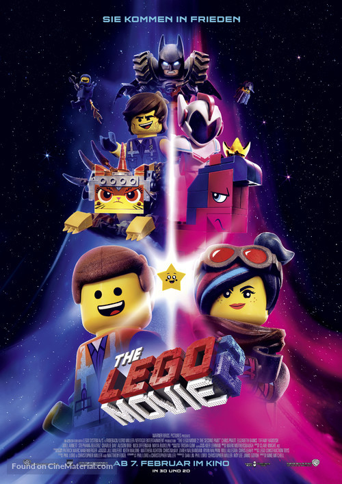 The Lego Movie 2: The Second Part - German Movie Poster
