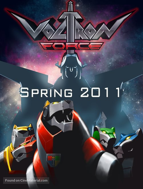 """Voltron Force"" - Movie Poster"