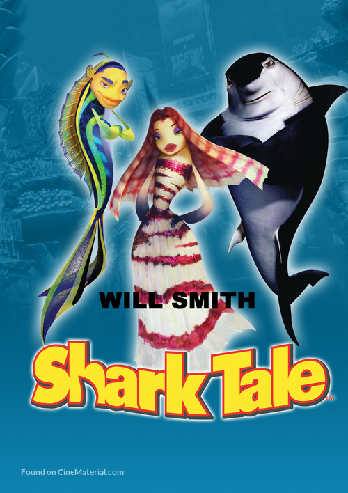 Shark Tale 2004 Dvd Movie Cover