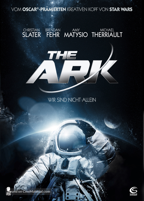 Stranded - German DVD movie cover