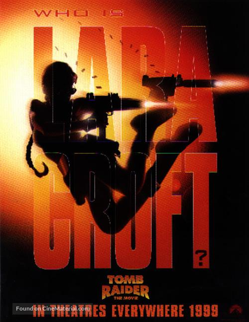 Lara Croft Tomb Raider 2001 Movie Poster