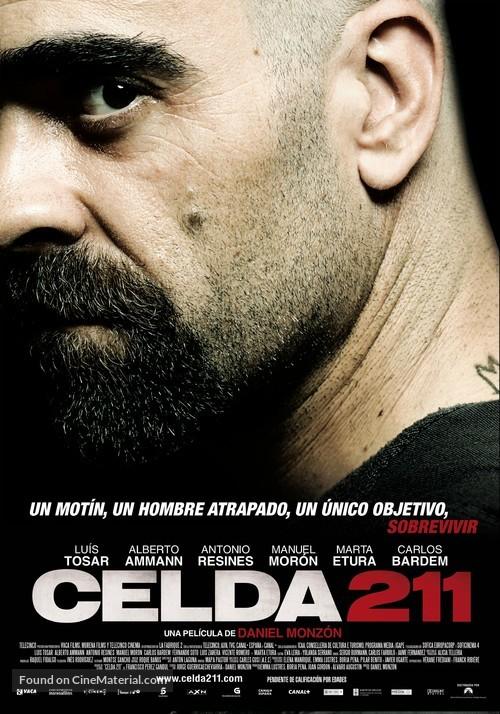 Celda 211 - Spanish Theatrical movie poster