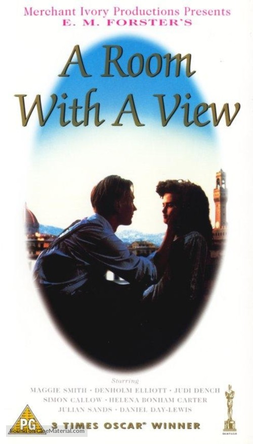 A Room with a View - VHS movie cover