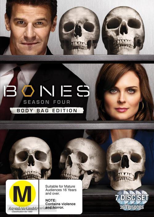"""Bones"" - New Zealand DVD movie cover"
