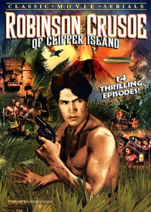 Robinson Crusoe of Clipper Island - DVD cover