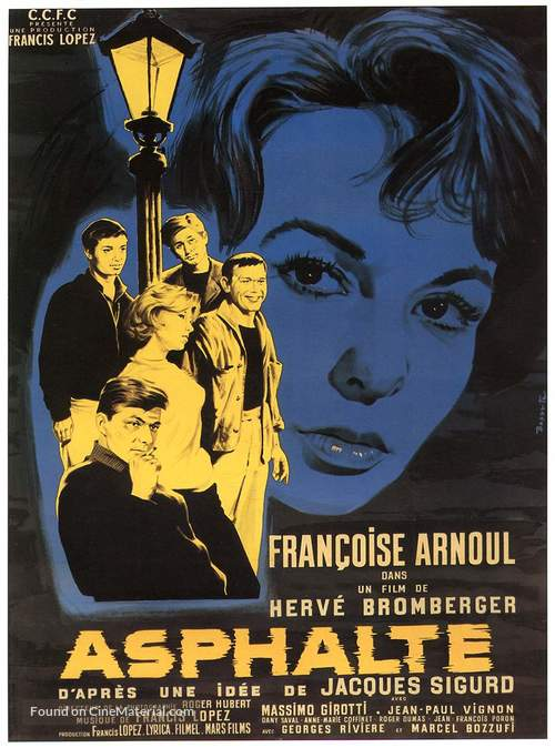 Asphalte - French Movie Poster