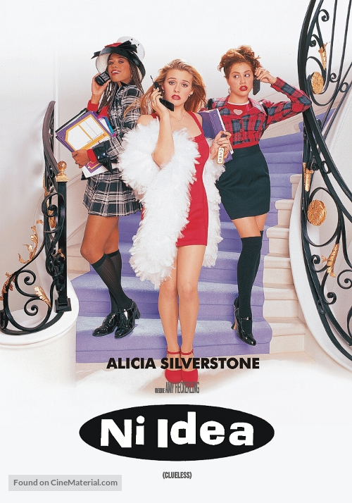 Clueless - Argentinian DVD movie cover