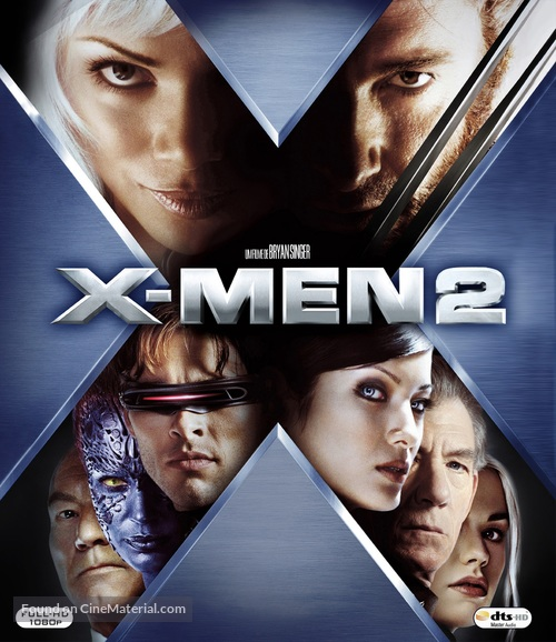 X2 - Brazilian Movie Cover