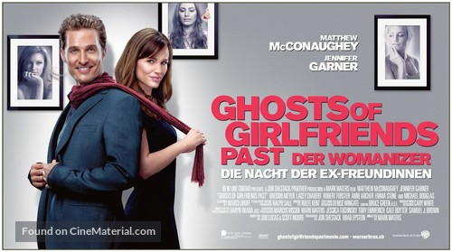 Ghosts of Girlfriends Past - Swiss Movie Poster