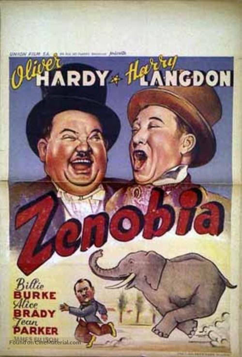 Zenobia - Belgian Movie Poster