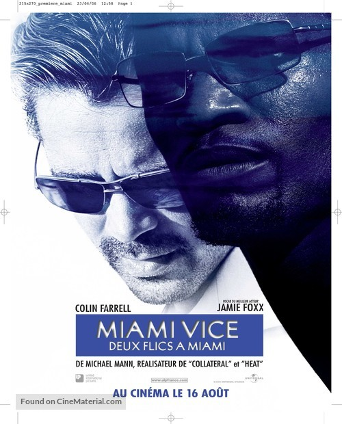 Miami Vice - French Movie Poster
