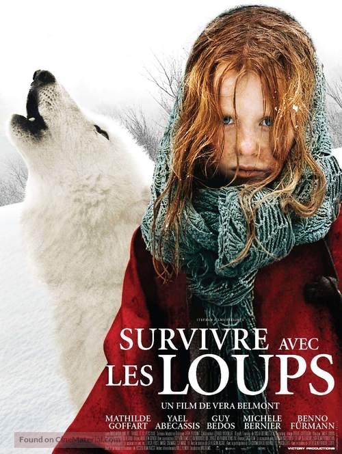 Survivre avec les loups - Belgian poster