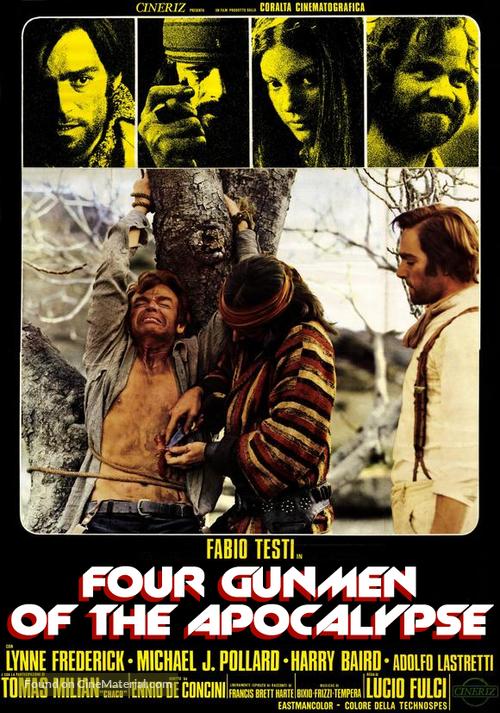 Quattro dell'apocalisse, I - poster