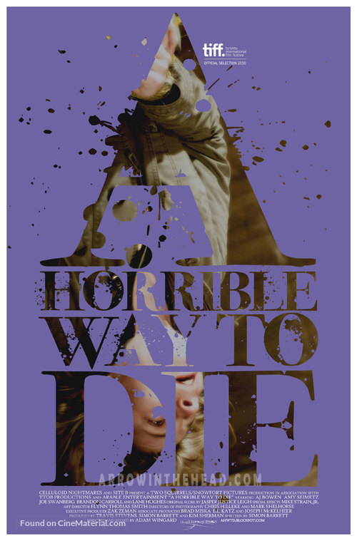 A Horrible Way to Die - Teaser poster
