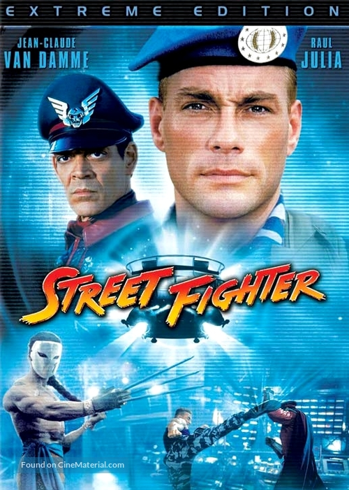 Street Fighter - Movie Cover