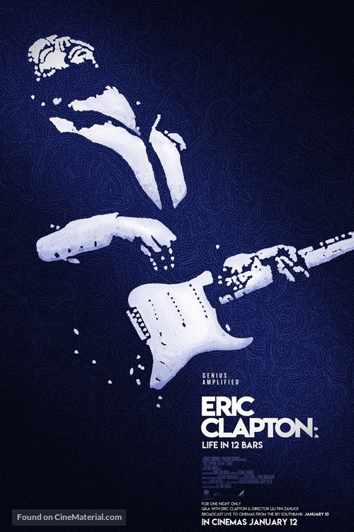 Eric Clapton: Life in 12 Bars - British Movie Poster