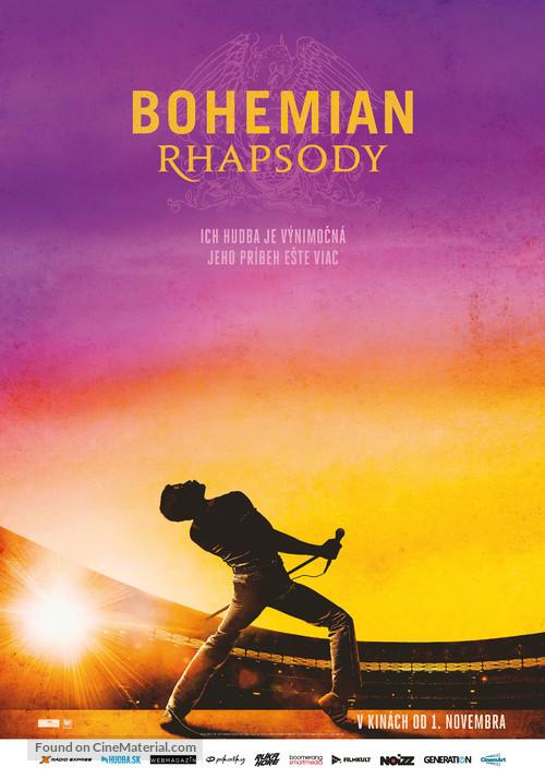 Bohemian Rhapsody - Slovak Movie Poster