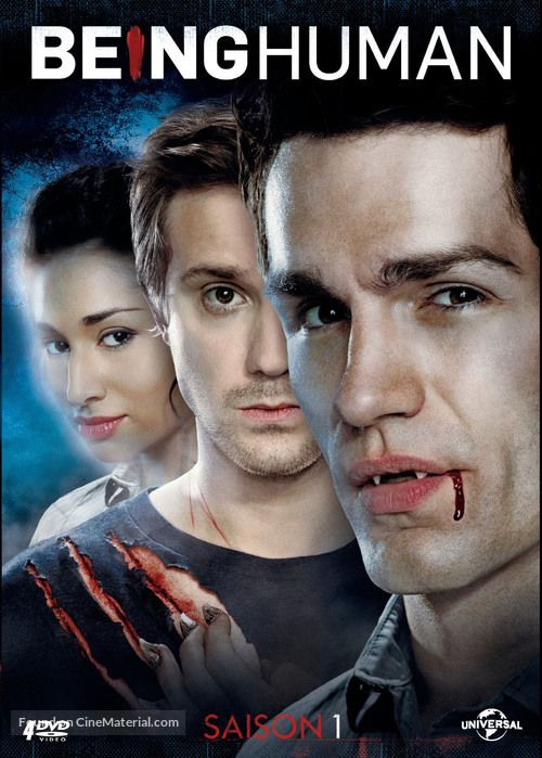 """""""Being Human"""" - French DVD movie cover"""