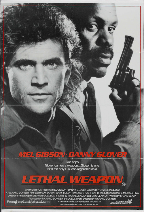 Lethal Weapon - Australian Movie Poster