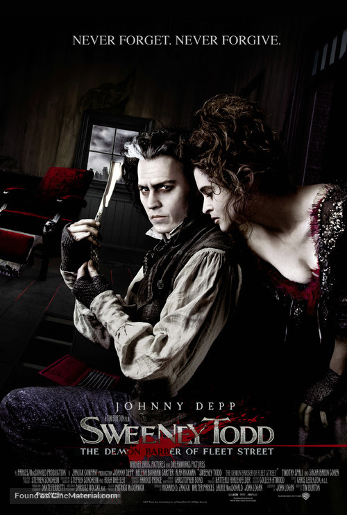 Sweeney Todd: The Demon Barber of Fleet Street - Movie Poster