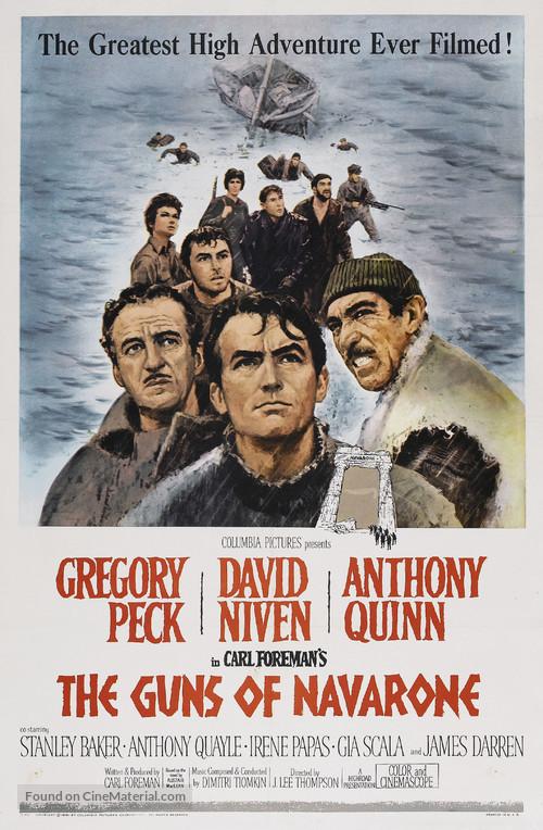 The Guns of Navarone - Movie Poster