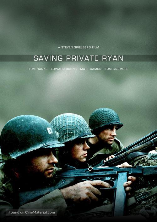 Saving Private Ryan - DVD movie cover