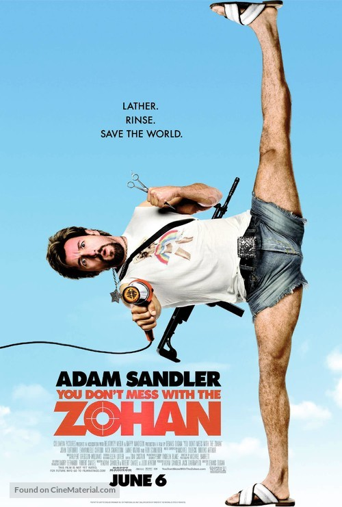 You Don't Mess with the Zohan - Movie Poster