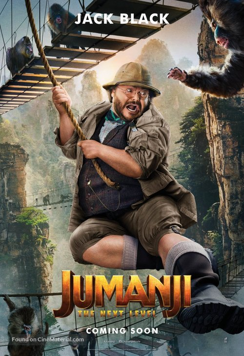 Jumanji: The Next Level - International Movie Poster