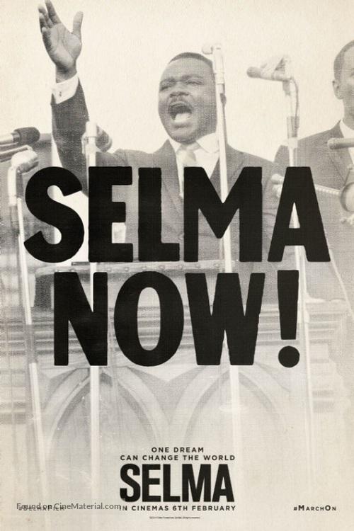 Selma - British Movie Poster