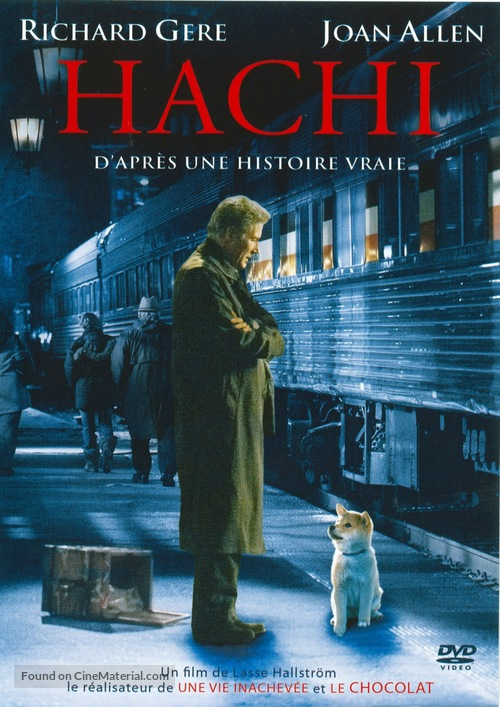 Hachiko: A Dog's Story - French DVD cover