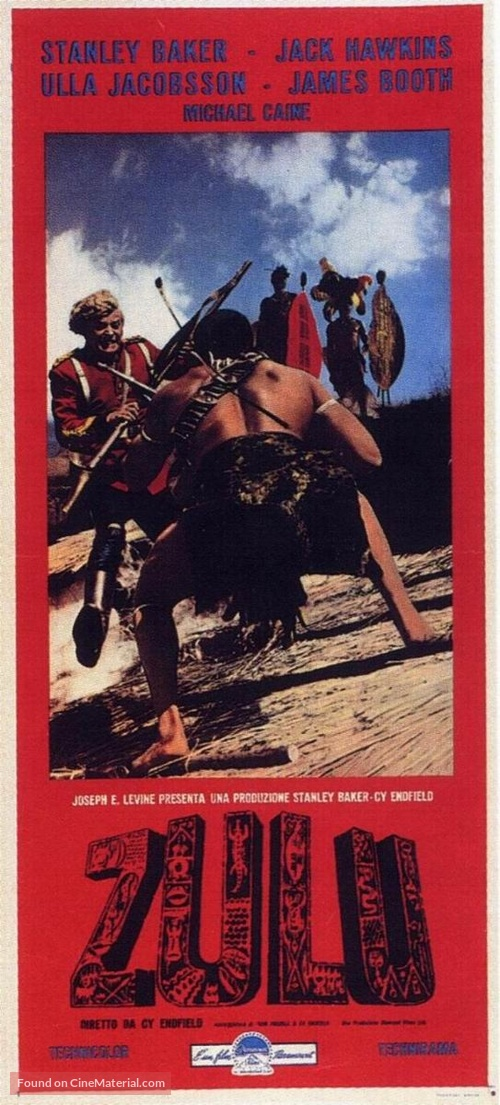 Zulu - Italian Movie Poster