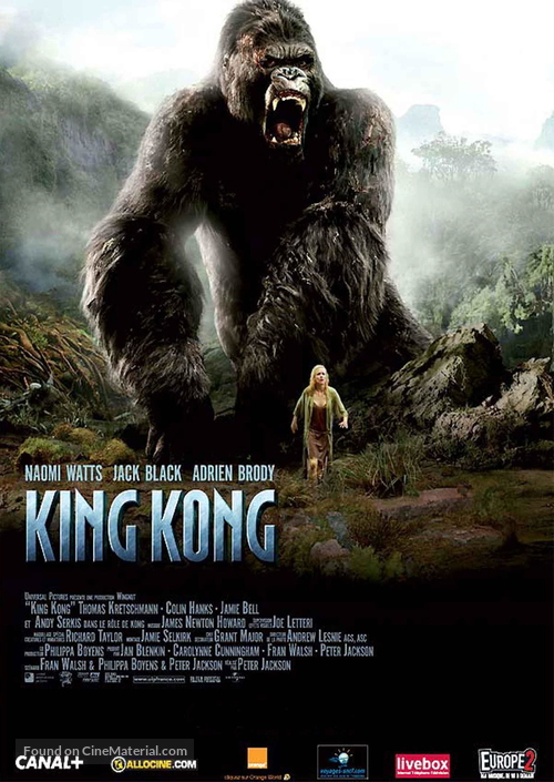 King Kong - French Movie Poster