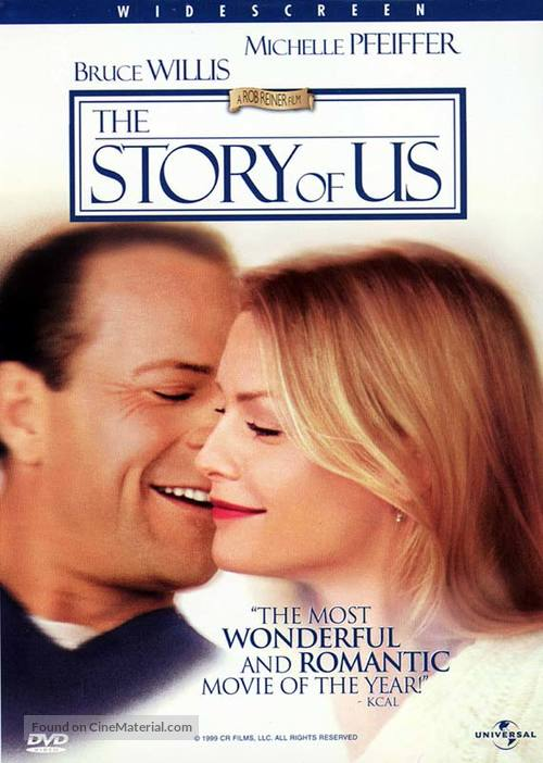 The Story of Us - DVD movie cover