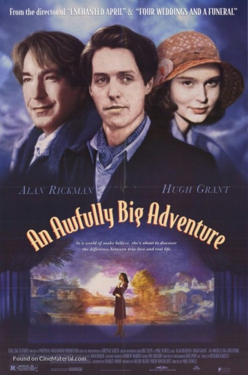 An Awfully Big Adventure - Movie Poster