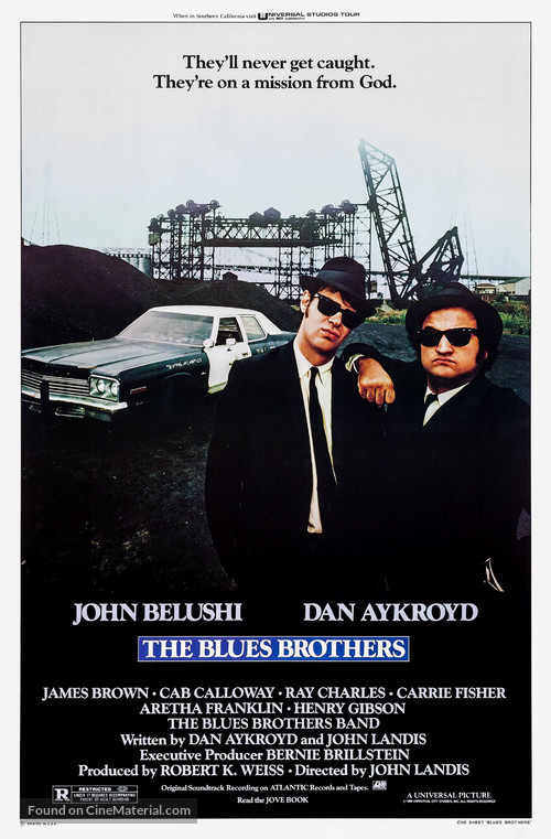 The Blues Brothers - Movie Poster