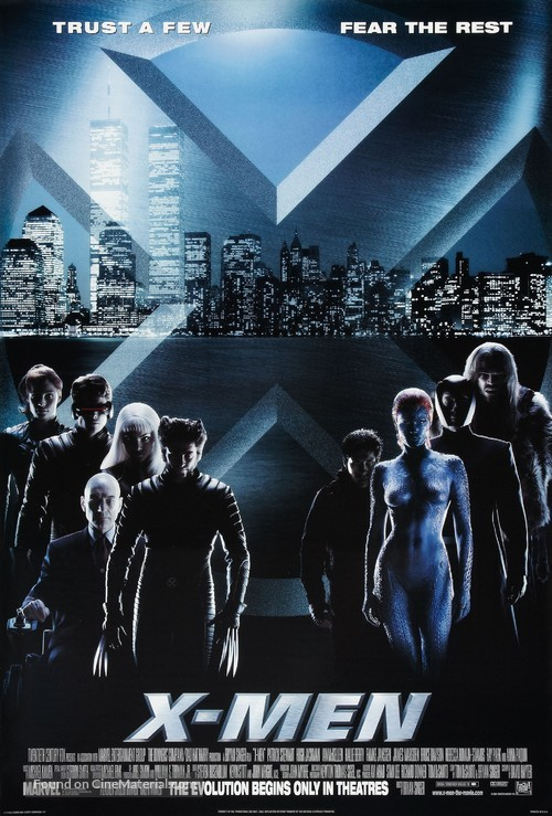 X-Men - Advance movie poster