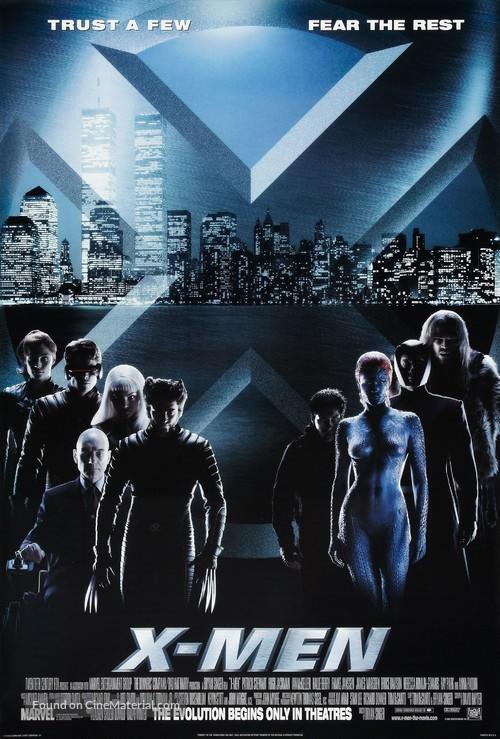 X-Men - Advance poster
