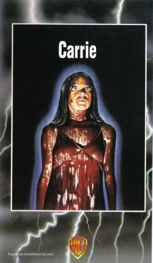 Carrie - Spanish VHS movie cover