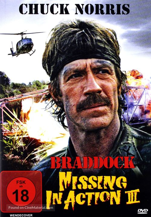 Braddock: Missing in Action III - Movie Cover