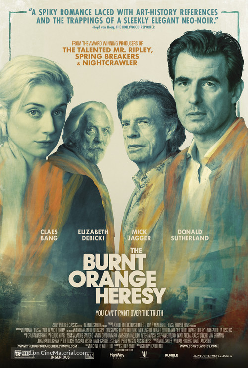 The Burnt Orange Heresy - Movie Poster