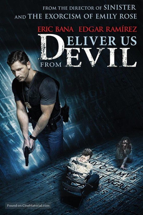 Deliver Us from Evil - DVD movie cover