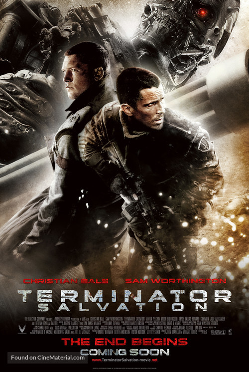 Terminator Salvation - International Movie Poster