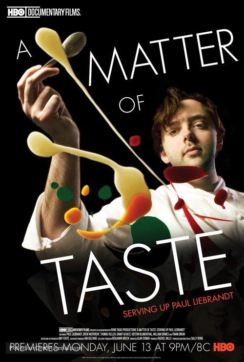 A Matter of Taste: Serving Up Paul Liebrandt - Movie Poster