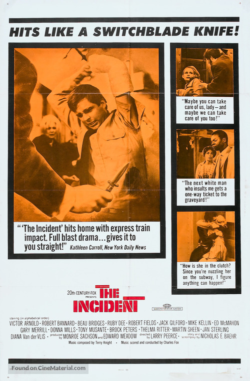 The Incident - Movie Poster
