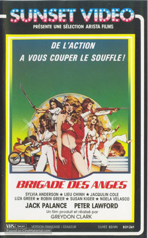 Angels' Brigade - French VHS movie cover