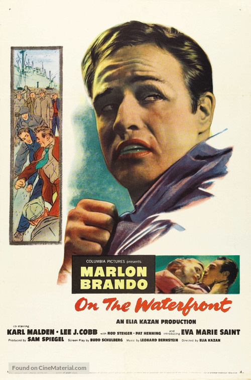 On the Waterfront - Movie Poster
