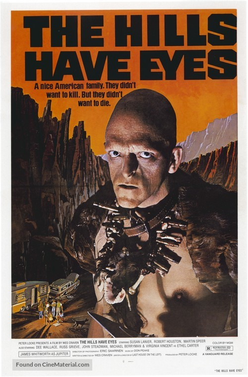 The Hills Have Eyes - Movie Poster