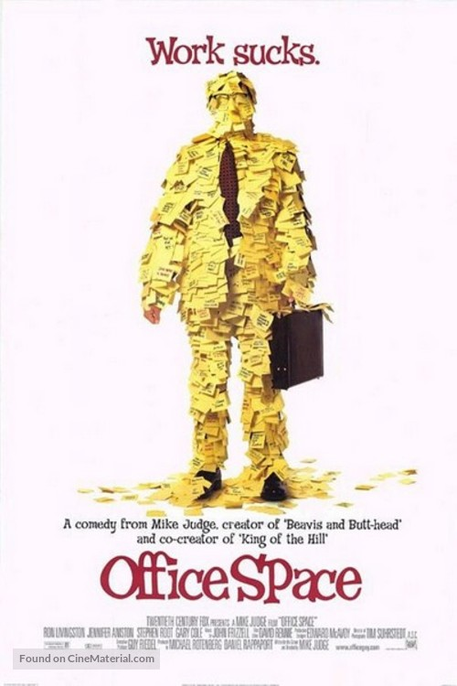 Office Space - Theatrical movie poster