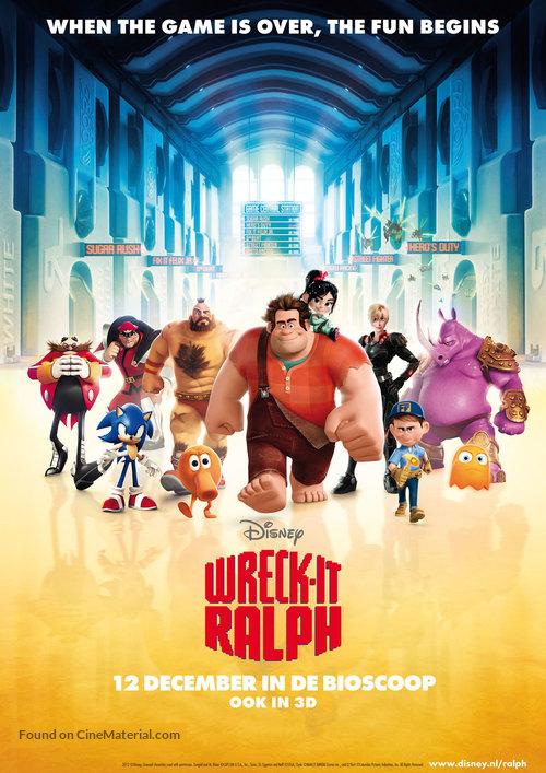 Wreck-It Ralph - Dutch Movie Poster